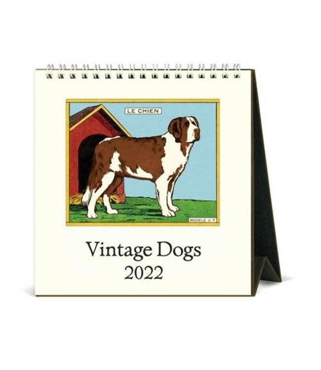Cavallini & Co. Dogs Desk Calendar