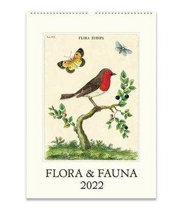 Cavallini & Co. Flora & Fauna Wall Calendar