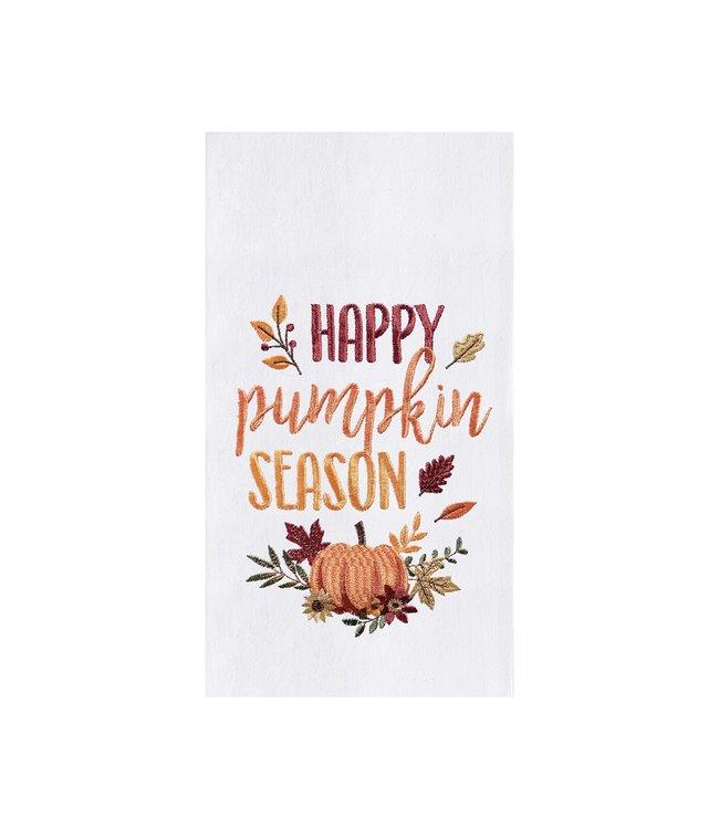 C&F Home Happy Pumpkin Season Flour Sack Towel