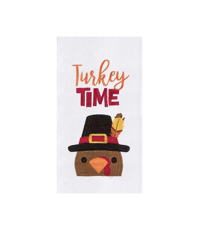 C&F Home Turkey Time Towel