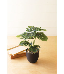 Kalalou Faux Monstera Plant