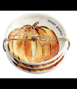 MudPie Orange Pumpkin Dip Set