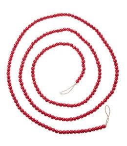 RAZ Imports Red Beaded Garland 9'