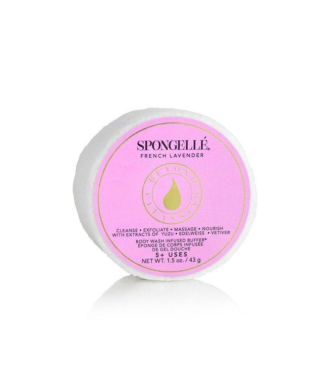 Spongelle French Lavender Body Wash Infused Buffer
