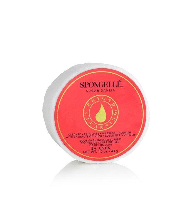 Spongelle Sugar Dahlia Body Wash Infused Buffer