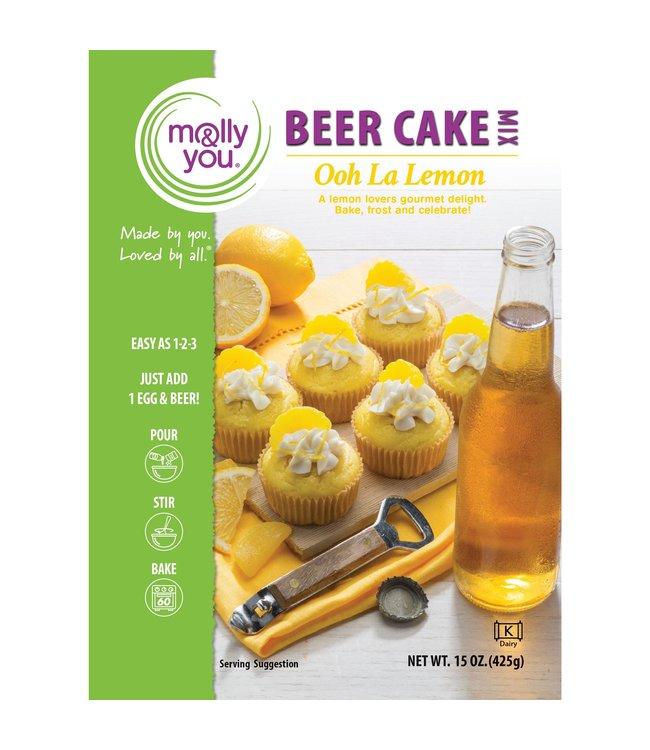 Molly & You Ooh La Lemon Beer Cake Mix