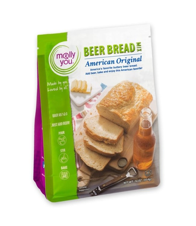 Molly & You Gluten Free American Original Beer Bread Mix