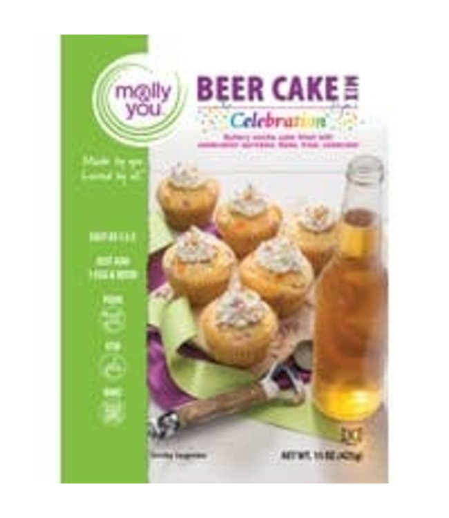 Molly & You Celebration Beer Cake Mix