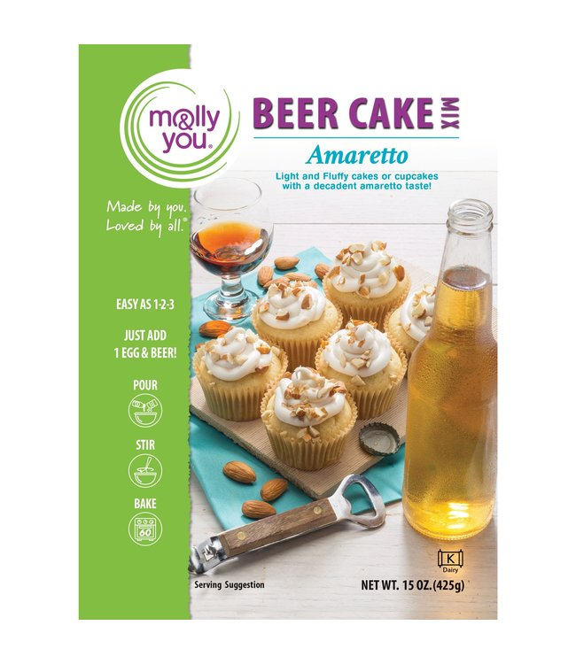 Molly & You Amaretto Beer Cake Mix