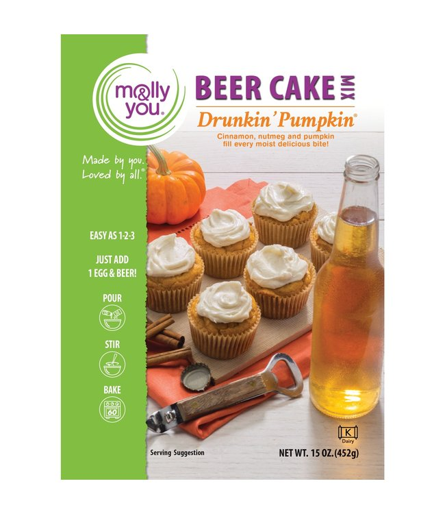 Molly & You Drunkin' Pumpkin Beer Cake Mix