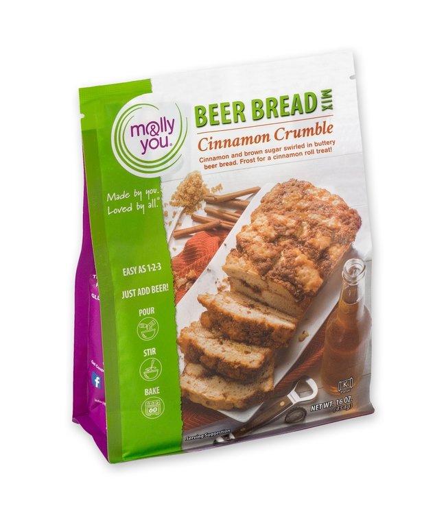 Molly & You Cinnamon Crumble Premium Beer Bread Mix