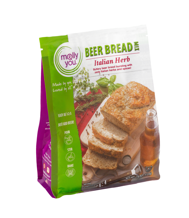 Molly & You Italian Herb Beer Bread Mix