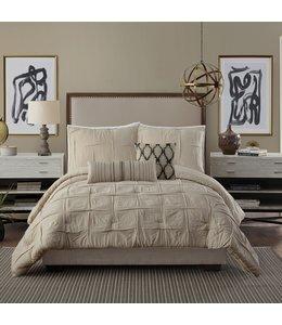 Peking Handicraft Natural Instincts 3-Piece Comforter Set- King