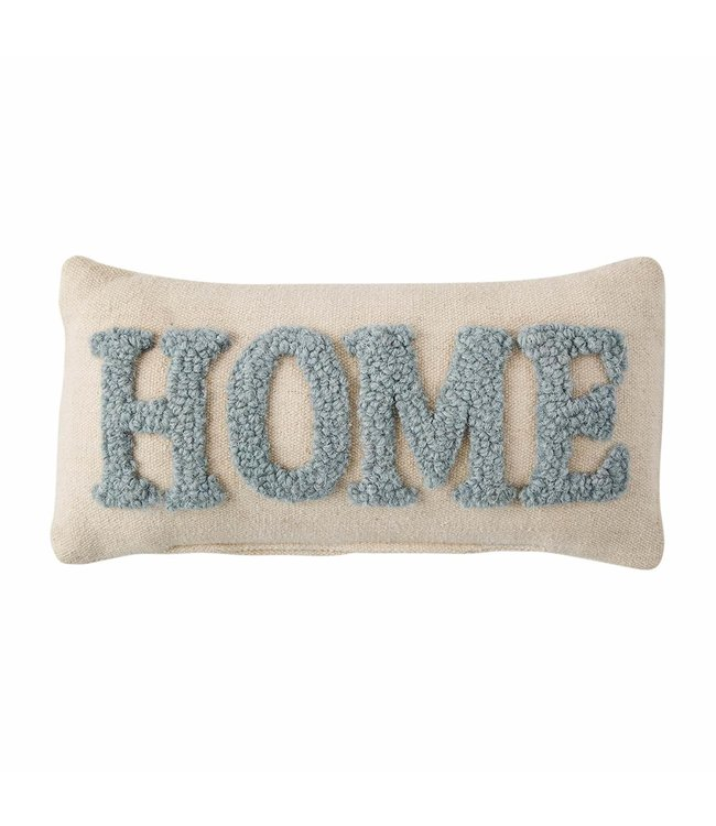 MudPie Home Hooked Throw Pillow