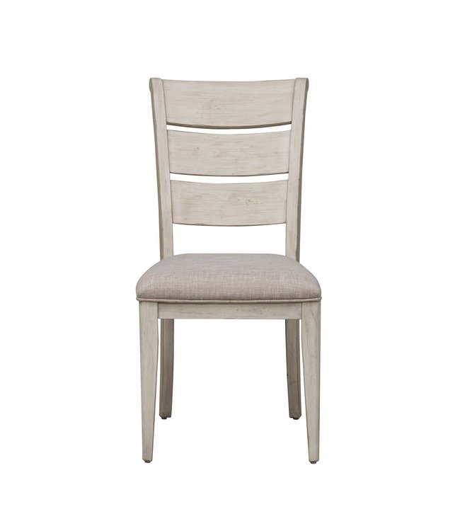 Liberty Furniture Farmhouse Reimagined Ladder Back Upholstered Side Chair