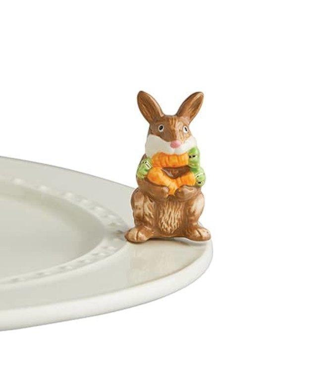 Nora Fleming Mini Funny Bunny