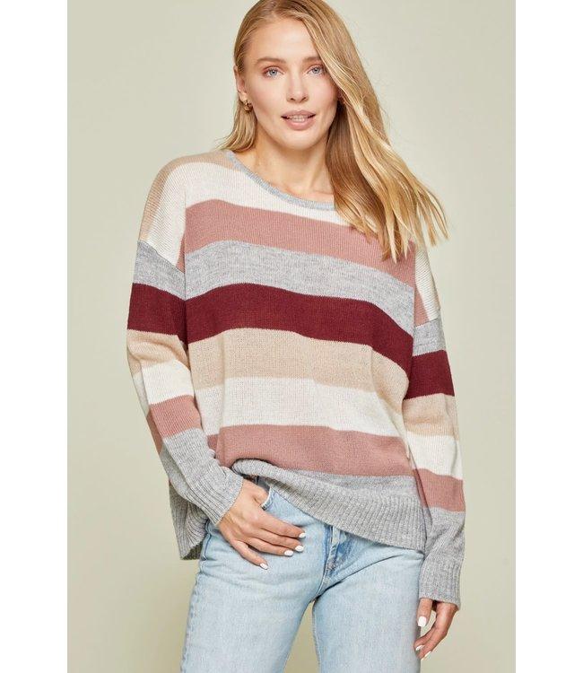 Andree Round Neckline Sweater Multi