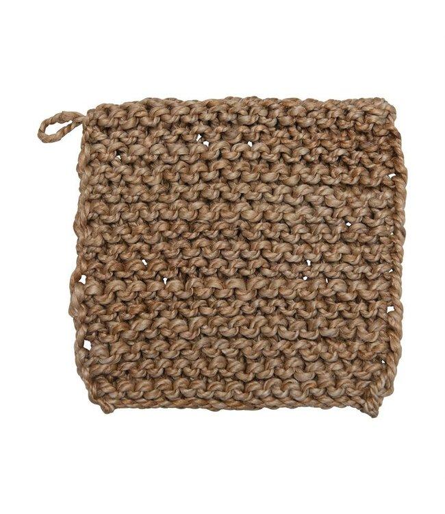 Bloomingville Jute Crocheted Pot Holder