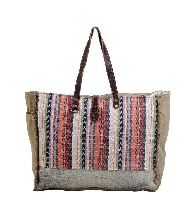 Myra Bag Pastel Hues Weekender Bag