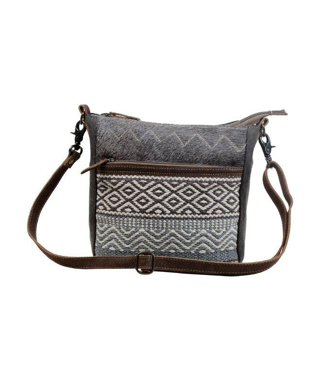 Myra Bag Chevron Patterned Cross-Body Bag