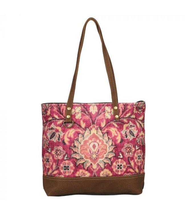 Myra Bag Blossomy Pink Tote Bag
