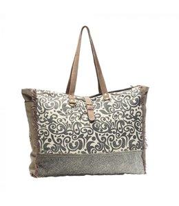 Myra Bag Floral Print Weekender Bag