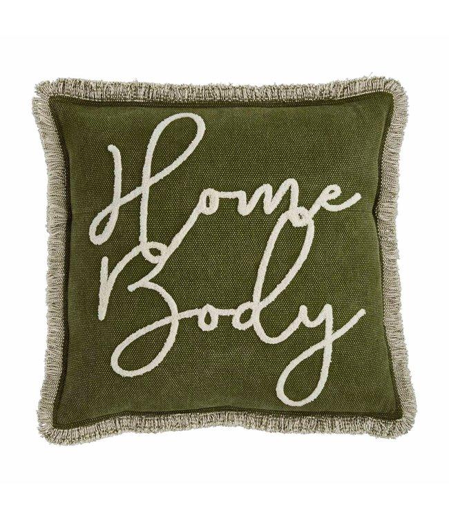 MudPie Home Body Throw Pillow