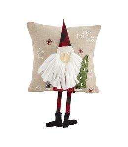 MudPie Santa Dangle Leg Pillow