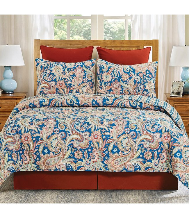 C&F Home Marla Reversible Quilt Set King