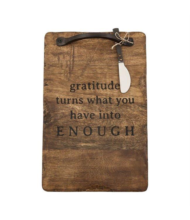 MudPie Gratitude Board Set