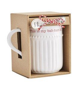 MudPie Bah Hum Mug Boxed Set
