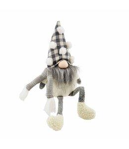 MudPie Pom Neutral Dangle Leg Gnome