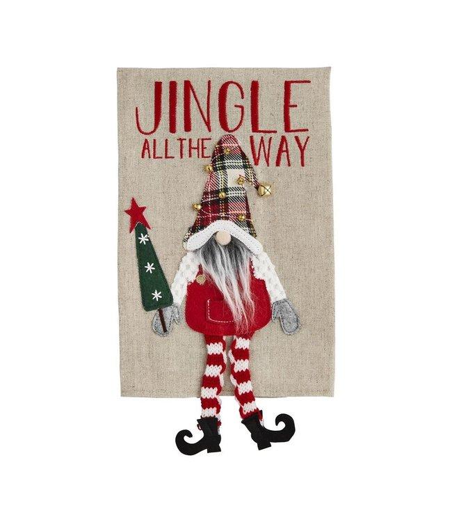 MudPie Jingle Dangle Gnome Towel
