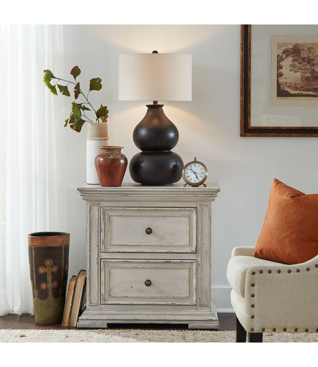 Liberty Furniture Big Valley 2 Drawer Nightstand With Charging Station