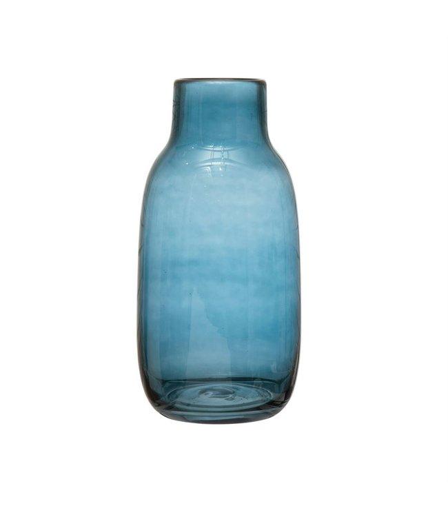 Bloomingville Blue Glass Vase