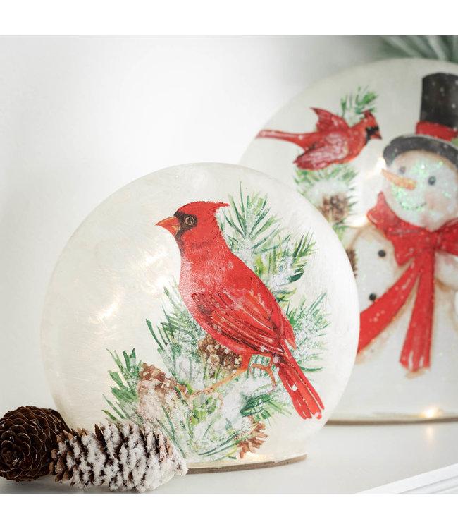 Sullivans Gift Cardinal LED Ball