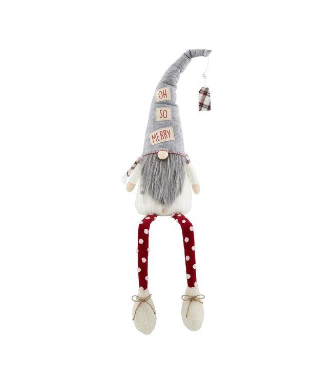 MudPie Extra Large Dangle Leg Gnome
