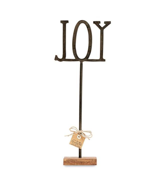 MudPie Joy Cast Iron Sentiment