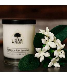 Live Oak Naturals Honeysuckle Jasmine Soy Wax Candle