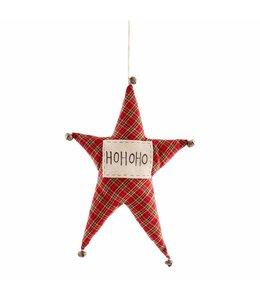 MudPie Ho Ho Star Fabric Hanger