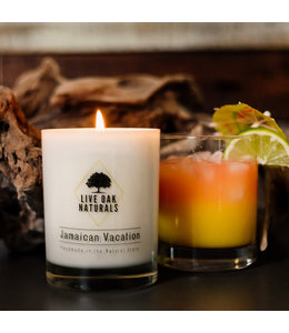Live Oak Naturals Jamaican Vacation Soy Wax Candle