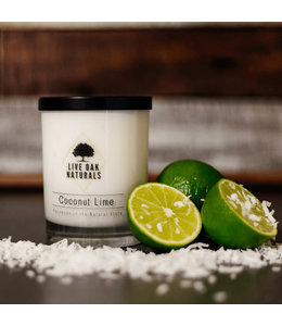 Live Oak Naturals Coconut Lime Soy Wax Candle