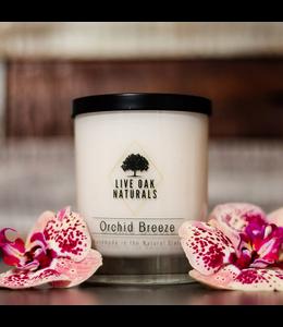 Live Oak Naturals Orchid Breeze Soy Wax Candle