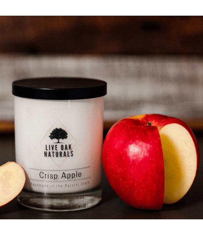 Live Oak Naturals Crisp Apple Soy Wax Candle