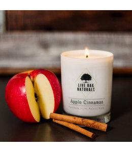 Live Oak Naturals Apple Cinnamon Soy Wax Candle