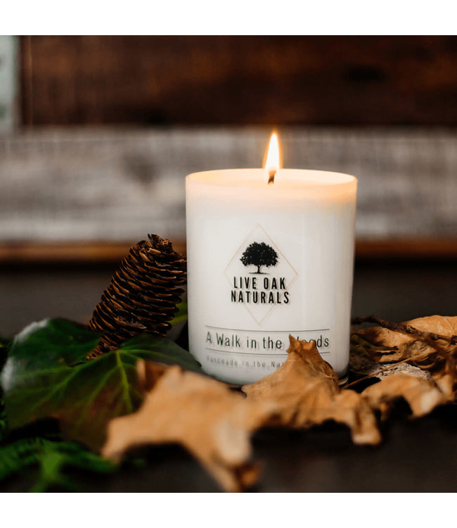 Live Oak Naturals A Walk In The Woods Soy Wax Candle