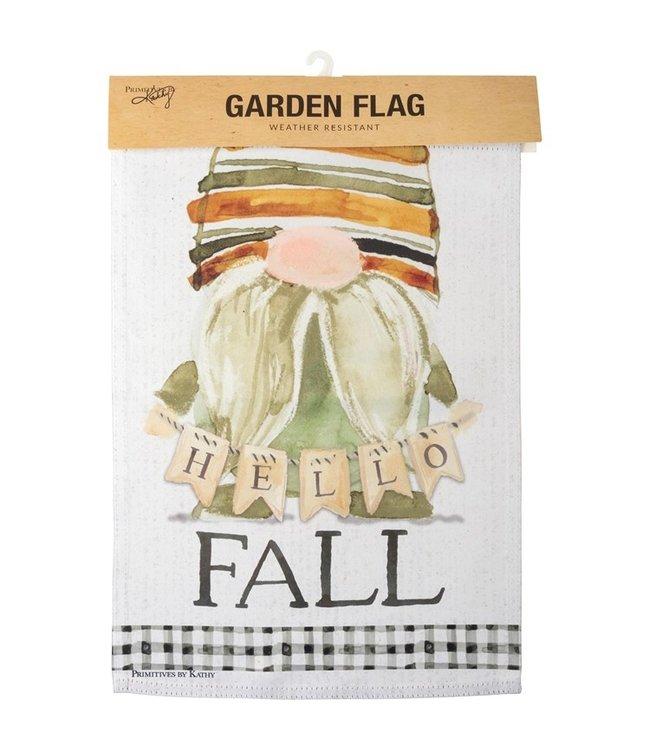 Primitives By Kathy Garden Flag - Hello Fall