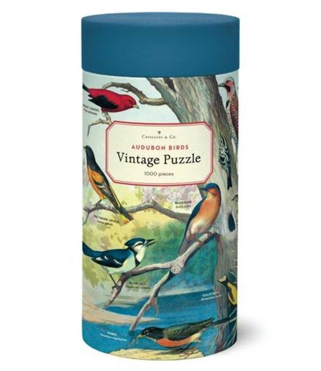 Cavallini & Co. Audubon Birds 1,000 Piece Puzzle