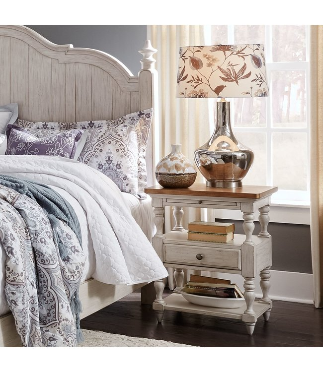 Liberty Furniture Farmhouse Reimagined 1 Drawer Night Stand