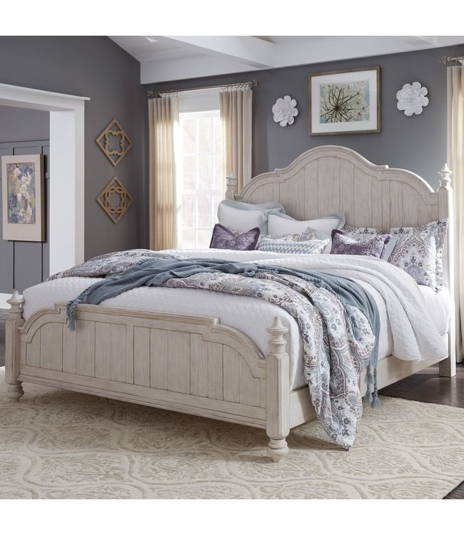 Liberty Furniture Farmhouse Reimagined Queen Poster Bed